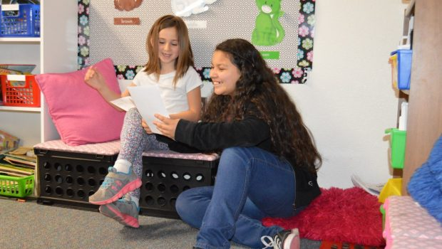 Upland Heights Students Participate in Poem in Your Pocket Day