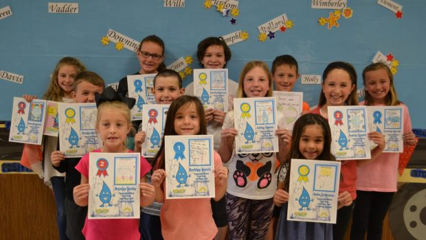 Crestview Students Win Wolfforth Water Conservation Art Contest