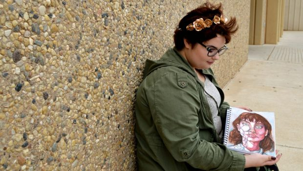 Tenth Grade Cancer Survivor Creates Art To Raise Awareness For Childhood Cancer