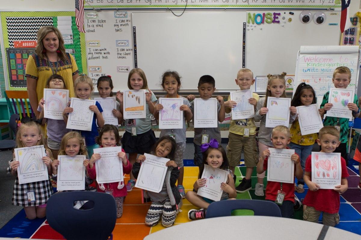 Kinder Garden: Kindergarten Class Gives Back In The Wake Of Hurricane