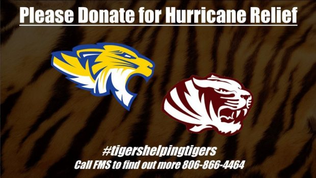 #tigershelpingtigers: FMS Students Helping Peers Upset by Harvey