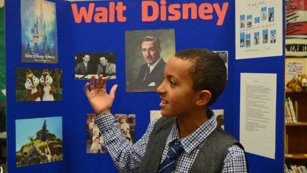 Legacy Elementary Students Bring Presentations to Life