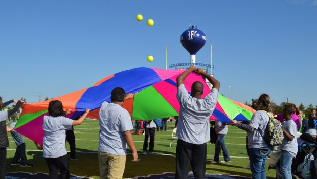 FISD Hosts Region 17 Special Education Field Day