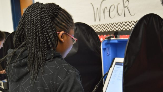 Legacy Elementary Students Gain Realistic Voting Experience