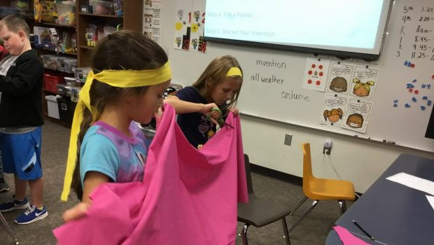 Students in Crestview Innovation Labs Tackle Halloween Conundrum