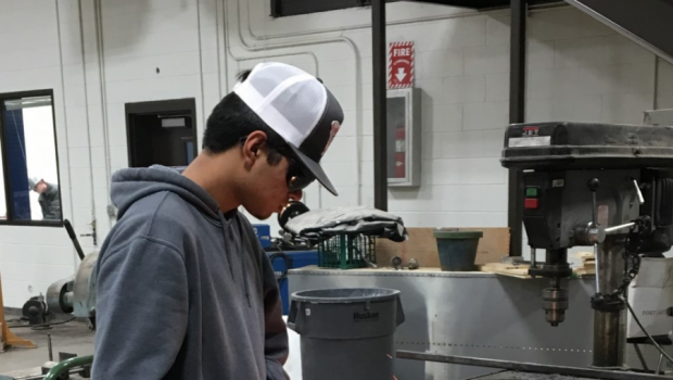 FHS Expands Welding Opportunities in Career and Technical Education Classes