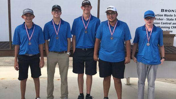 Tiger Golf Grabs Bronze at Andrews Invitational