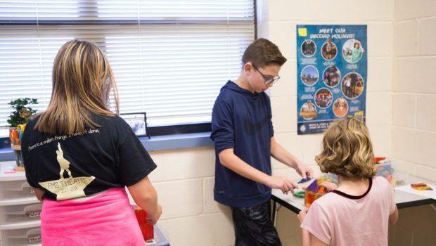 FMS Curiosity Room Expands Students' Creativity Through Fun, Games