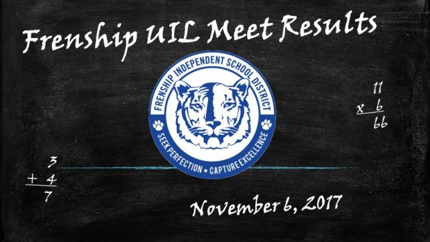 Frenship UIL Competition Results