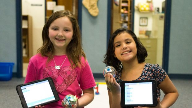 Coding and Storytelling Collide at Westwind Elementary