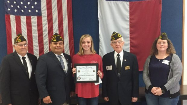 FMS Eighth Grader Advances in Patriot's Pen Essay Contest