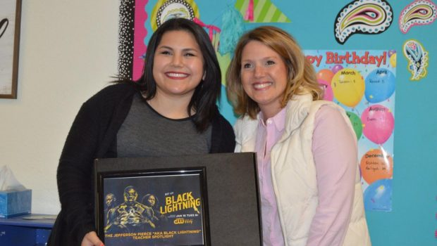 North Ridge Teacher Honored with Appreciation Award