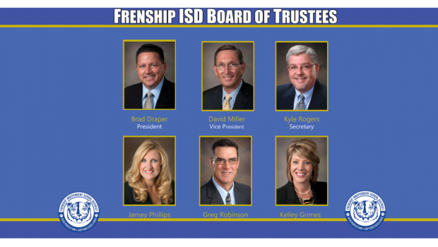 FISD Honors Board Members for School Board Appreciation Month