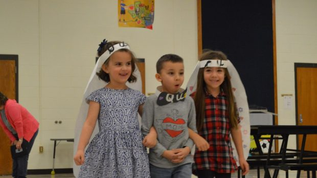 'Q' Weds 'U' in Adorable North Ridge Ceremony