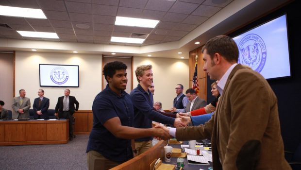 FISD School Board Honors Athletes and Coaches for Recent Successes