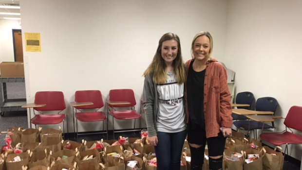 FHS Students Coordinate Project to Address Food Instability