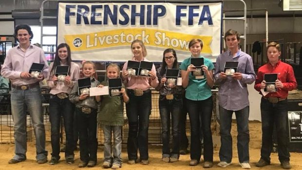 Frenship FFA Students Start Stock Show Season at Local Show