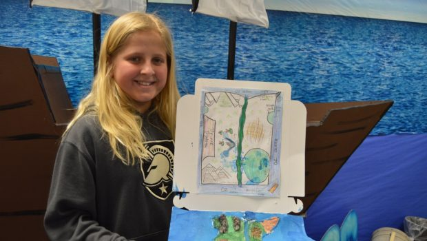 Frenship ISD Gifted and Talented Students Develop Creative Continents