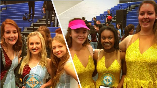 Frenship High School Competes in Texas Color Guard Circuit Contest