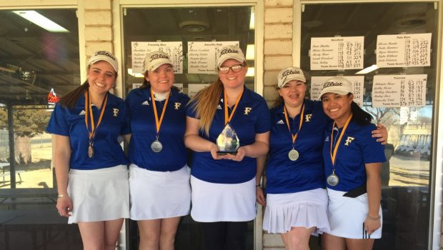 FHS Girls Golf Team Wins First Tourney of Season