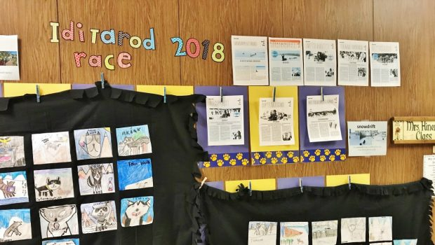 Frenship Students Cross the Finish Line on Iditarod Project