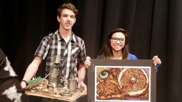 Frenship HS Art Students Take Projects to the Next Level
