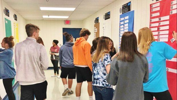 FHS English III Students Make The Crucible #MODERN