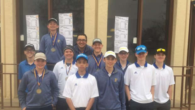 Tiger Golf: Boys Gold Team Wins Meadowbrook Tourney