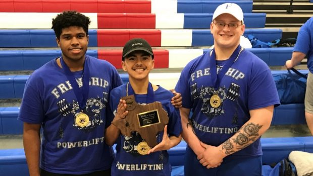 Tiger Powerlifters Push Weight Around at State Meet