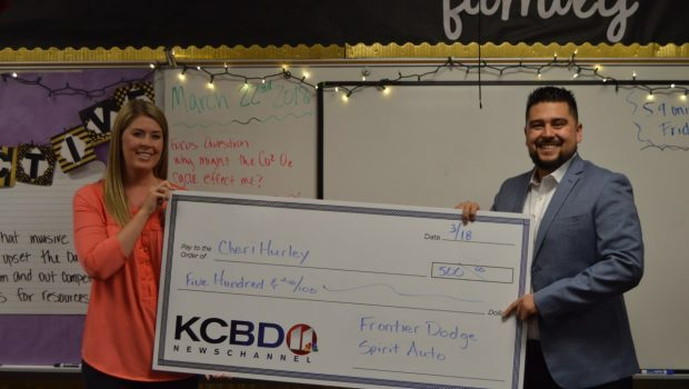 Willow Bend Teacher Named KCBD's Teacher of the Month