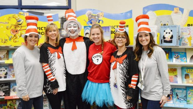 "Frenship Students Celebrate ""Read Across America Day"""