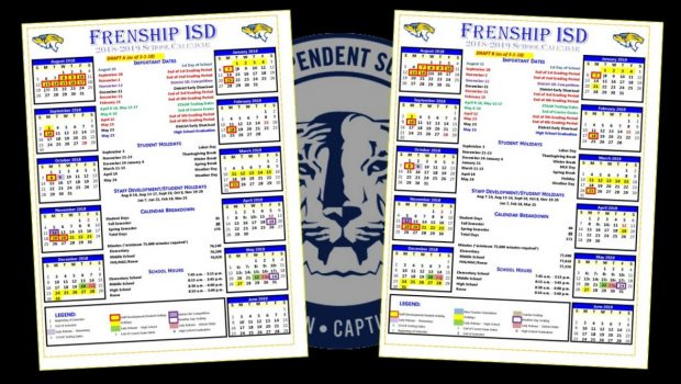 Frenship ISD Seeks Feedback for the 2018-19 Calendar