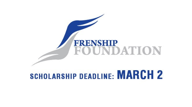 Frenship Foundation for Leadership Scholarship Applications Due