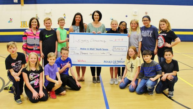 Legacy Elementary Donates More Than $3,000 to Make-A-Wish Foundation