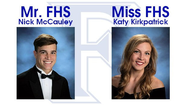 Nick McCauley and Katy Kirkpatrick Named Mr. and Miss FHS
