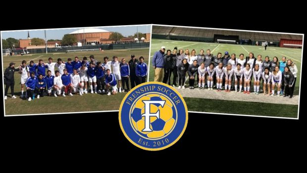 Twice as Nice! Tiger Soccer Teams Win Area Playoff Matches