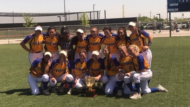 Tiger Softball Sweeps Montwood to Win Bi-District Title