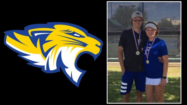 Tiger Tennis Duo Headed to State Tournament
