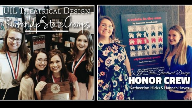 FHS Students Earn Honors at UIL State Theatrical Design Contest