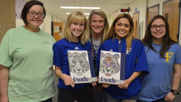FHS Yearbook Staff Nationally Recognized for Excellence