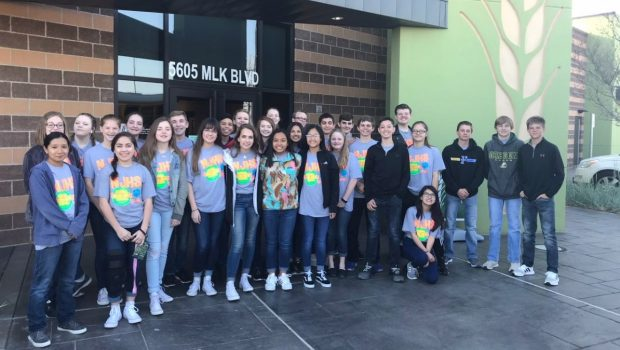 Terra Vista MS Students Serve Community