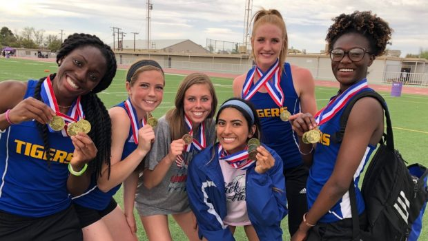 Tiger Track Stars Qualify for Postseason