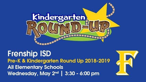 2018-2019 Pre-K and Kindergarten Round-Up