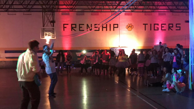 FISD Employees Have Radical Time at 80s Prom