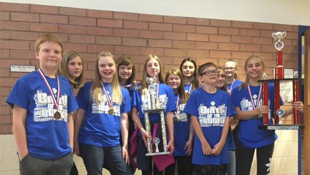 Frenship Middle Schools Compete in District Battle of the Books