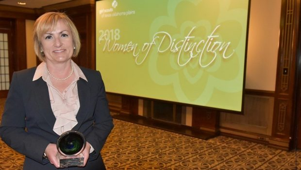FISD Superintendent Honored by Girl Scouts as Woman of Distinction