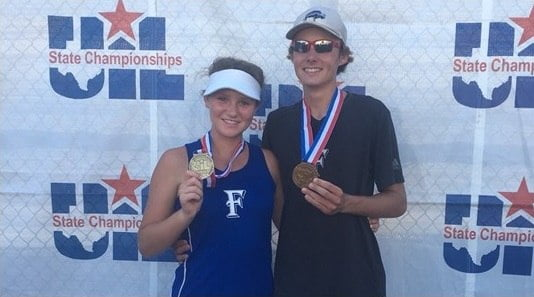 Tiger Mixed Doubles Team Makes Great Run at State Championships