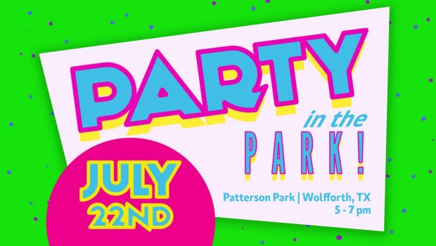 Party in the Park – July 22