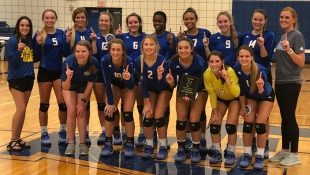 Tiger Volleyball Claims San Angelo Tourney Championship