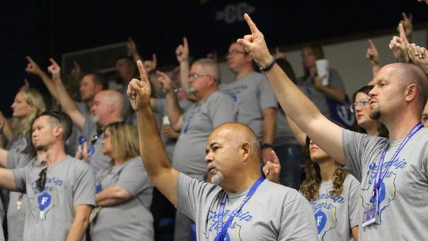 PHOTO GALLERY: Frenship Staff Kicks Off a New School Year